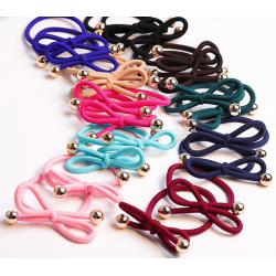 2-pack hårsnodd / armband  2 olika färger