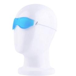 Kylande ögonmask med gele sovmask spa  blå/turkos