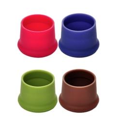 2-pack silicone kork lock till tex vinflaska köksredskap vinkork olika färger