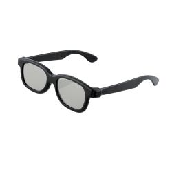 3D glasögon passiva för ex philips sony lg tv svart