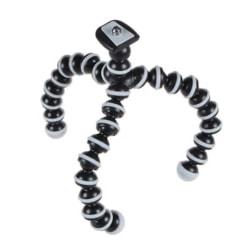 Böjbart stativ med tripod mount för kamera Svart / vit