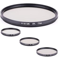 CPL filter 62 - 77 mm svart. Välj storlek i listan! 77mm
