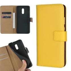 Gul plånbok OnePlus 5T/6/6T/7/7Pro skal fodral kort mobil - Gul OnePlus 7