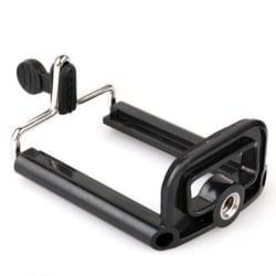 Hållare till stativ eller GoPro tillbehör mobil iphone samsung svart