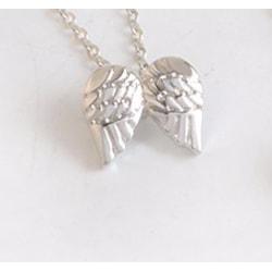 Halsband guardian angle silverfärgat silver