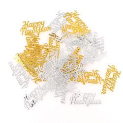 """Konfetti 15 gram """"happy new year"""" silver guld Silver / guld"""