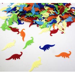 Konfetti, dinosaurier blandade färger 45 gram fest kalas barn Flera färger