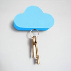 magnetisk nyckelhållare, färg blå hitta organisera nyckel moln Blå