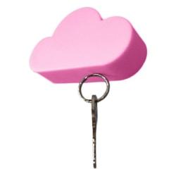 magnetisk nyckelhållare, färg rosa hitta organisera nyckel moln Rosa