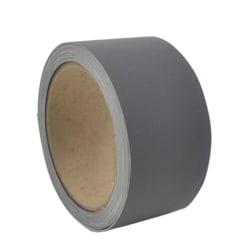 Reflextejp strykbar elastisk barn synas mörker reflex 1m silver/grå 25 mm