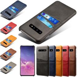 Samsung galaxy S10 skal kort - Svart Samsung Galaxy S10