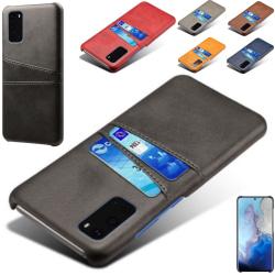 Samsung galaxy S20 FE skal kort - Brun S20 FE