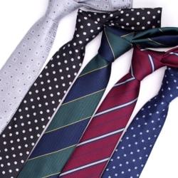 Smal slips i olika färger och mönster Röd