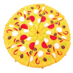 Squeeze barnleksak stress leka koppla av skola pizza  Flerfärgad