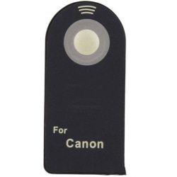 Trådlös fjärrutlösare / fjärrkontroll till Canon kamera svart 28*60*7 mm