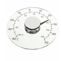 Utetermometer termometer grader inredning dekoration Genomskinlig