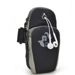Väska till mobiltelefon vid löpning träning black/grey