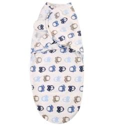 62*28CM Baby Swaddle Wrap Blanket Cotton Infant Sleepsack Soft 5