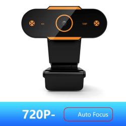 Auto Focus 2K Webcam 1080P Web Camera+Microphone Smart Webcams 720P