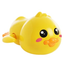 Baby Cute Animal Duck Wind Up Chain Bathing Toys B