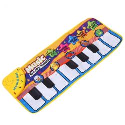 Baby Piano Play Mat Musical Keyboard Crawling Blanket Kids Gift