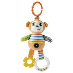 Baby Plush Cartoon Animal  Handbells bed bell Hanging Toys M1