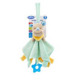 Baby Soft Plush Animal Doll Toy Appease Towel Grasping Rattles