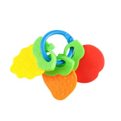 Baby Teether Silicone Fruit Shape Molar Toys Newborn