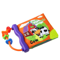 Baby Toys Multi-Touch Colorful Baby Cloth Book Teethers Toys