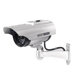 Fake Dummy CCTV Security Camera Flashing LED Solar Energy