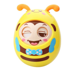 Infant Kids Cute Cartoon Tumbler Teether Hand Bell Toy