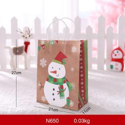 Portable Christmas Gift Holders Bags Gift Wrapping Bag 4