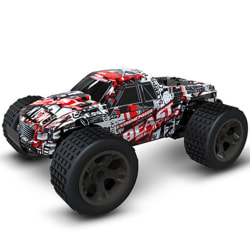 Remote control pickup off-road two-wheel drive Red