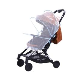 Stroller Accessories Baby Pushchair Shield Mesh Mosqutio Net Sky Blue