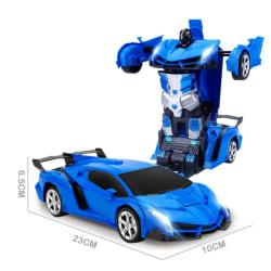 Transform Robot Racing Car Toy Remote Car Hand Gesture Control A7