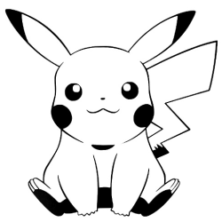 Väggdekor - Pokemon Pikachu