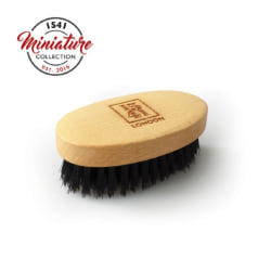 1541 London Mini Beard & Moustache Brush Beechwood Transparent