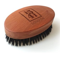 1541 London Pure Bristle Military Brush Transparent