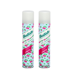 2-pack Batiste Dry Shampoo Cherry 200ml Transparent