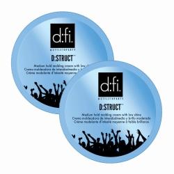 2-pack D:fi D:struct Molding Cream 75g Transparent