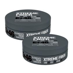 2-pack E+46 Xtreme Fiber 100ml Transparent