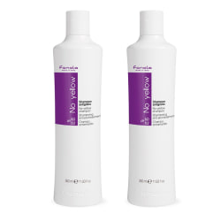 2-pack Fanola No Yellow Shampoo 350ml Transparent