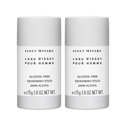 2-pack Issey Miyake L'Eau D'Issey Pour Homme Deostick 75g Transparent