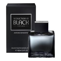 Antonio Banderas Seduction in Black Edt 100ml Transparent