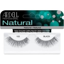 Ardell Natural Lashes 105 Black Svart