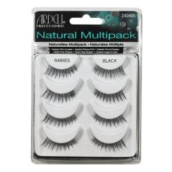 Ardell Natural Multipack Lashes Babies Black Svart
