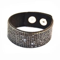 Armband Blingbling Black Transparent