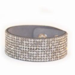 Armband Blingbling Gray Transparent