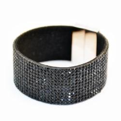 Armband Blingbling Magnetic Black Transparent