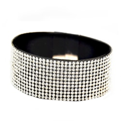 Armband Blingbling Magnetic Gray Transparent